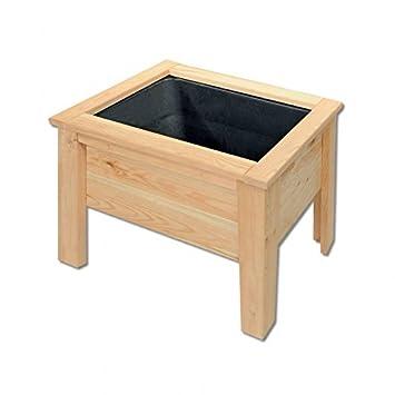 Wiemann Lehrmittel Hochbeet Aus Holz Klein Amazon De Spielzeug