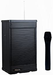 Hisonic HS321-HH Portable PA System with Wireless Microphone, Black