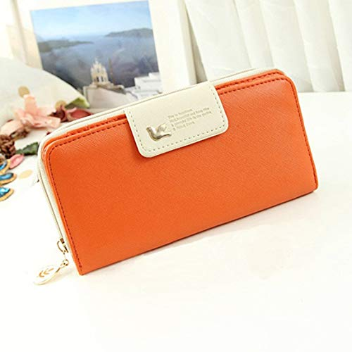 sac PU main Bag Holder femme en solide Lady cuir Bag Wallet Casual à Style Mobile main coréen sac à Phone Clutch a5twWqOC