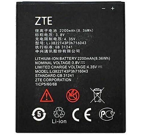 Todobarato24h Bateria Compatible con ZTE Blade L7 Li3822T43P3h716043 2200mAh: Amazon.es: Electrónica