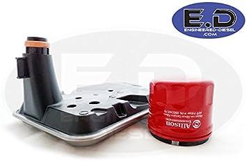 Internal Shallow Filter AND External Spin On Filter 29539579 29537965 Genuine Allison Filter Kit