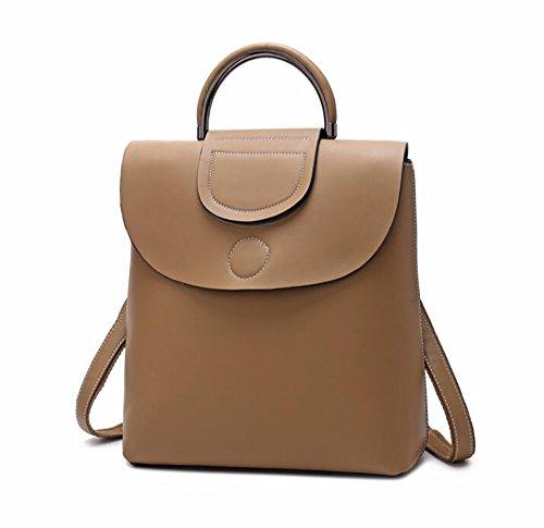 à main en souple sac PU de Sac sac multifonctionnel 26 cuir dos mode femmes 30cm décontracté 11 de à Ox06q