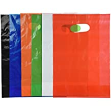Assorted Colored Plastic Bags (50 pc)
