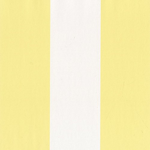 (SY33922 Galerie Stripes 2 white yellow striped wallpaper)