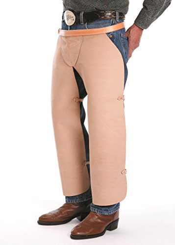 The Colorado Saddlery 10-71 Leather Hay Apron Hay Chaps