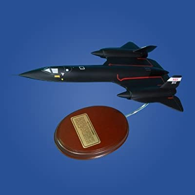 Mastercraft Collection SR-71 NASA Wood Model Aircraft Model