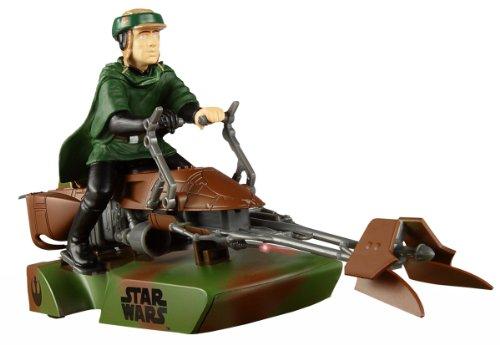 Scalextric 1:32 Star Wars 74-Z Speeder Bike - Luke Skywalker (C3298) (Car 32 Scale Slot Body)