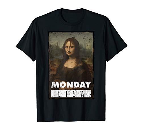 Monday Lisa Funny T-Shirt Art - The Famous Meme]()
