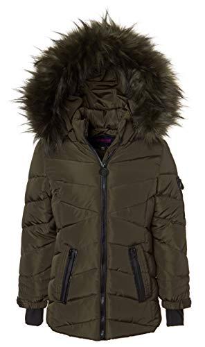 Buy fur trimmed parka