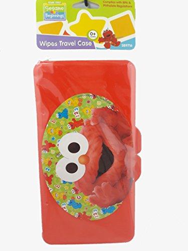 Red Elmo Baby Wipes Case