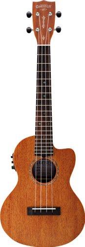 Gretsch G9121 Tenor A.C.E Acoustic-Electric Ukulele with Gig Bag - Honey Mahogany Stain
