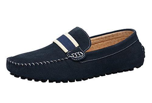 On 44 Driving Blue Icegrey Loafer Casual Men's Moccasins Slip w8wgXEq