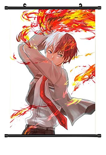 Adonis Pigou My Hero Academia Boku No Hero Wall Scrolling Posters Home Decor Painting Todoroki Shouto