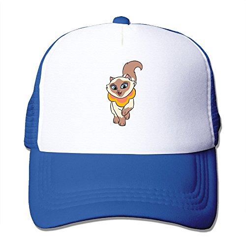 HandSon Custom Casual Two-toned Sagwa Trucker Caps Hat RoyalBlue (Christmas Falls Hoverboard)