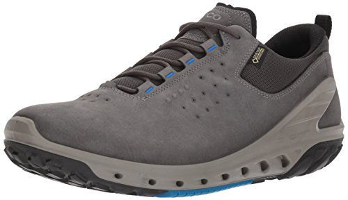 - ECCO Men's Biom Venture Leather Gore-TEX Tie Hiking Shoe, Dark Shadow, 43 EU/9-9.5 M US