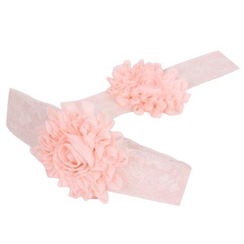 Dentelle Bébés légères rose filles Bandeaux cheveux Arcs Accessoires 2013newestseller