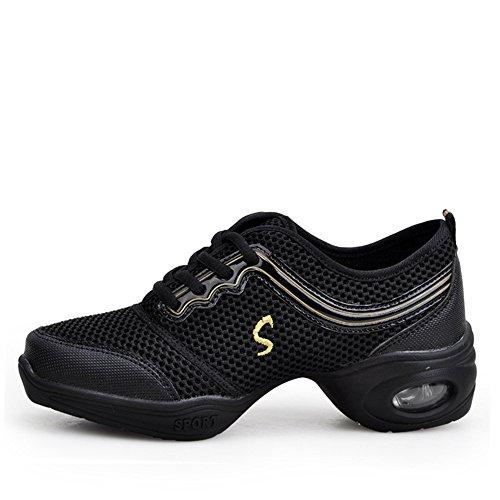 Zapatillas De Deporte Yuanli Boost Mesh Dance Black