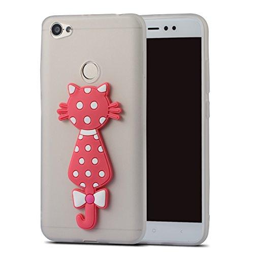 Tpu Shockproof Bumper Silicone Screen For Cartoon idatog Xiaomi Design Back Skin Creative scratch Soft Free 5a Redmi Anti Protector Case Gel 3d Cover Protective Cat Cute White Hd Flexible q1qBACpHw
