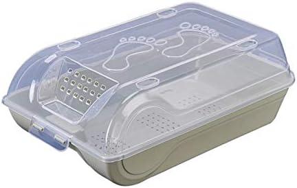 DMMW Caja de Zapatos Caja de Almacenamiento de plástico Botas de ...