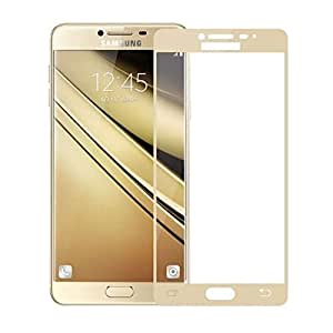 Tempered-Glass Screen Protector For Samsung Galaxy_N 7100 (Gold)