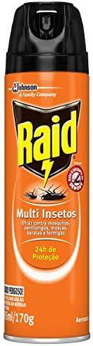 Inseticida Raid Multi-insetos Spray 285ml