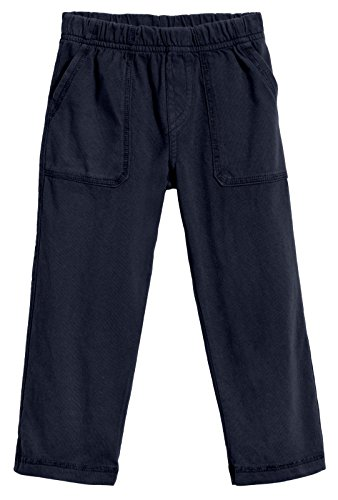 City Threads Big Boys' and Girls' Soft Jersey Tonal Stitch Pant Perfect for Sensitive Skin SPD Sensory Friendly Clothing - Dark Navy 7 -
