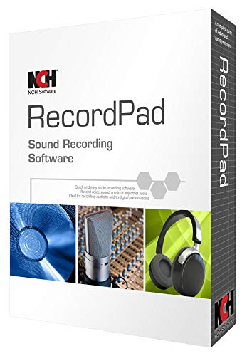RecordPad Sound Recorder (PC) (Best Nch Software Audio Recorders)