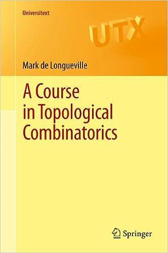 A Course in Topological Combinatorics (Universitext)