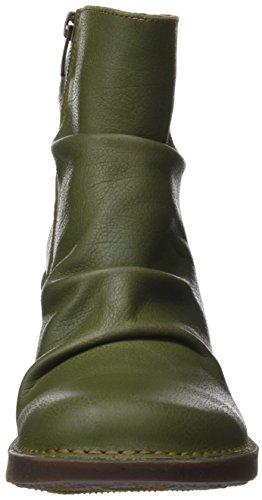Art Women's Memphis Ankle Boots Green (Khaki Khaki) PKllV