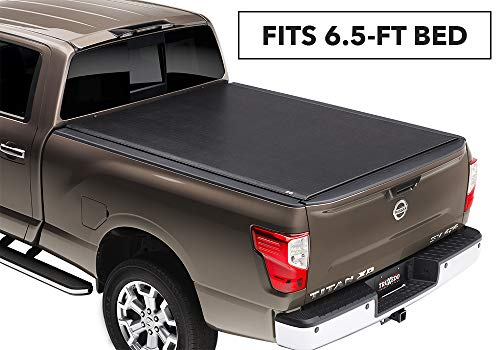 TruXedo 6.6 588801 Lo Pro Soft Roll-up, Hinged Combination for Nissan Titan 6.5' Bed w/or w/Out Track System