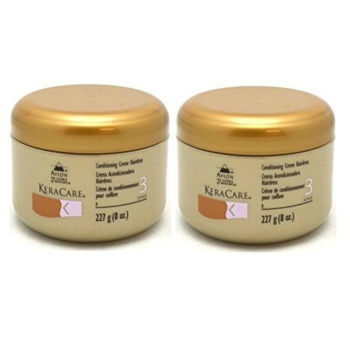 Conditioning Creme 2 - Avlon Keracare Conditioning Creme Hairdress, 4 Ounce (Pack of 2)