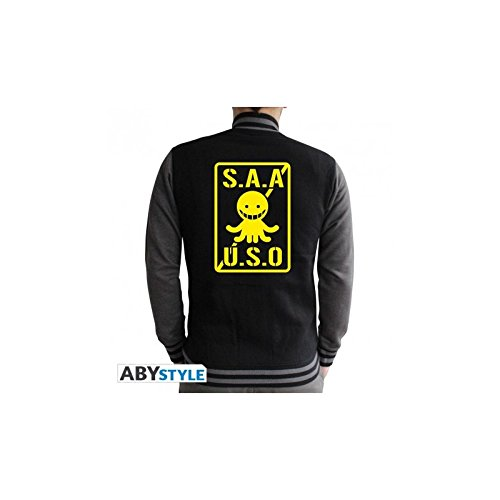 xxl s a a u Gris Assassination Abystyle s oscuro Classroom Hombre Negro Teddy o Zw0nxUFq6