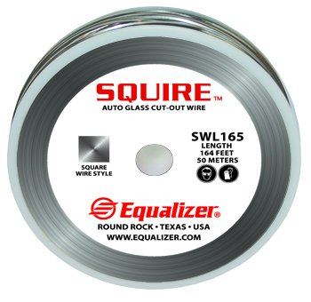 Squire Glass Cutting Wire - 164' Spool by Equalizer