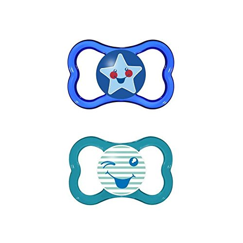 MAM Air 6+Months Soother, Blue 2 per pack - Pack of 6