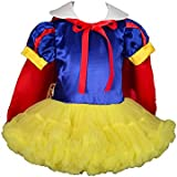 Dressy Daisy Girls' Snow White Princess Costume Halloween Fancy Dresses W/ Cape