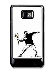 Flower Thrower Case fits Samsung Galaxy S2 S2 Plus Banksy