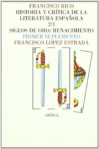 Book Historia Y Critica De La Literatura Espanola