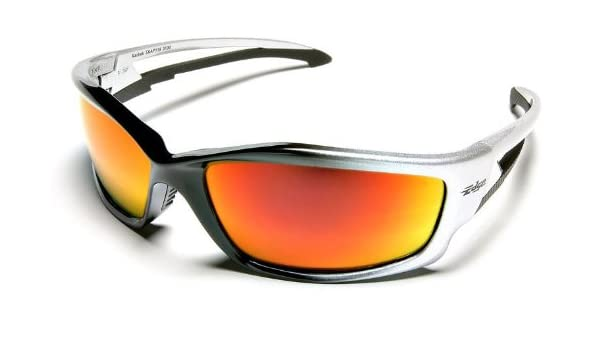 Edge Eye wear SR117 Black Silver Mirror Lens Reclus Safety Glasses