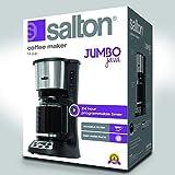Salton 14 Cup Coffee Maker, Black