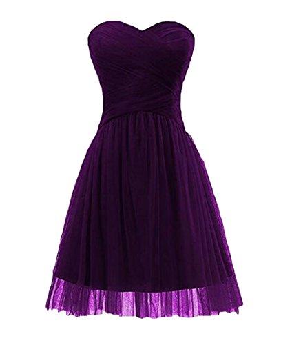 Kleid violett Damen of Gr Leader 40 Beauty the wa0CBnIxPq
