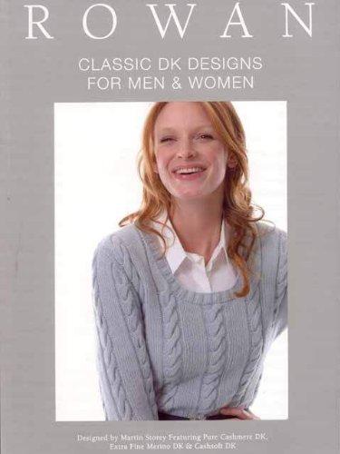 Rowan Cashsoft Dk - Rowan Pattern Book, Classic DK Designs for Men & Women