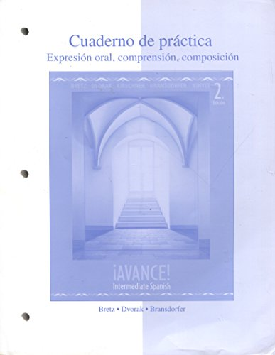 Cuaderno de Practica: Expresion Oral, Comprension, Composicion (Spanish Edition)