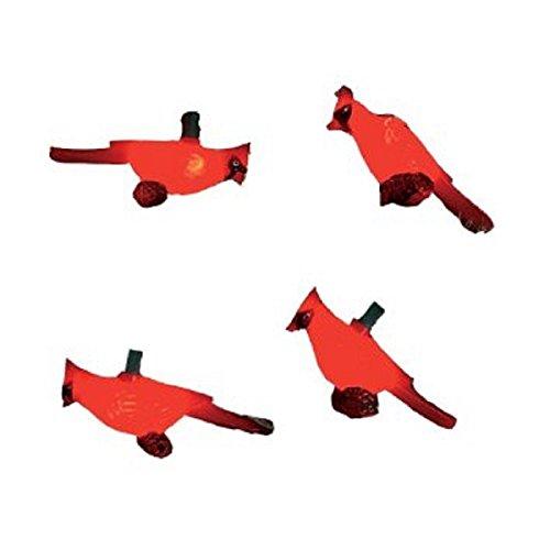 Kurt Adler UL0676 Red Cardinal Light Set, 10 Light