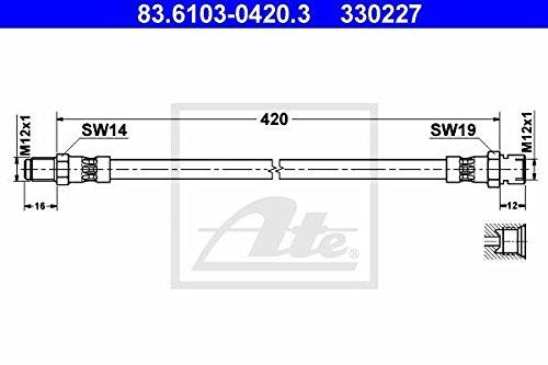 ATE 83.6103-0420.3 Bremsschlauch