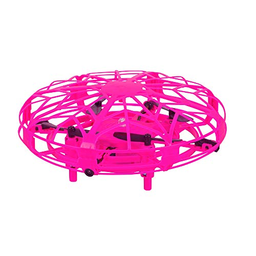 Maginon TQC-1 Children's Drone Indoor Mini Drone for Children Easy to Fly Quadro Copter in Pink