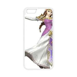 iPhone 6 4.7 Inch Cell Phone Case White Super Smash Bros Princess Zelda SLI_650308