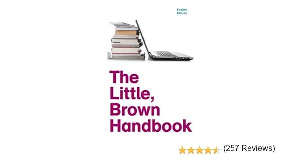 Workbook custom handwriting worksheets : Amazon.com: The Little, Brown Handbook, 12th Edition ...