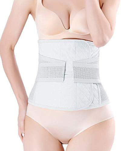 Postpartum Belly Wrap C Section Recovery Belt Belly Band Binder Back Support Waist Shapewear 2019 Upgraded