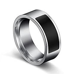 YJYdada NFC Multifunctional Waterproof Intelligent Ring Smart Wear Finger Digital Ring (H)