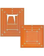 Kimberbell Orange Pop Rulers (Square & Rectangle)